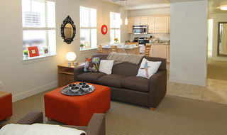 Provo student apartments feature spacious living rooms