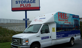 Manassas self storage moving truck