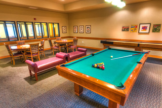 Fools gold game room in vancouver senior living
