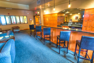 Lounge at vancouver senior living