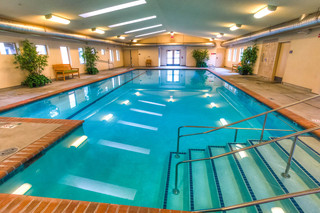Pool at vancouver senior living