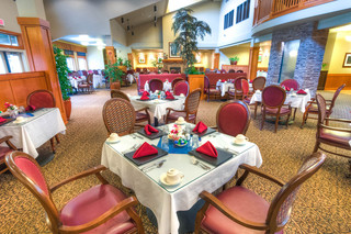 Silver falls resturant at vancouver senior living