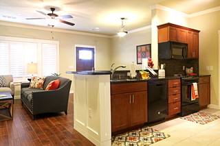 Large irving tx senior living villa kitchen 1