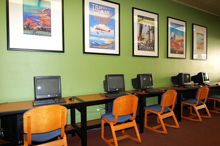 Computer lounge at student living in chico