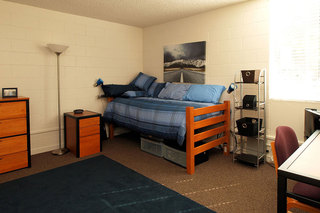 Example room set up student living in chico