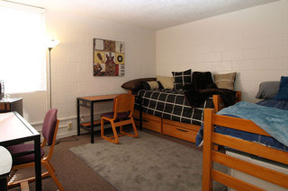 Shared room at student living in chico