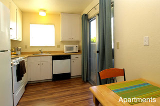 Student living in chico kitchen apartments