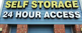 24 hour access at houston self storage