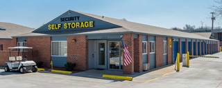 Gated access at self storage shawnee