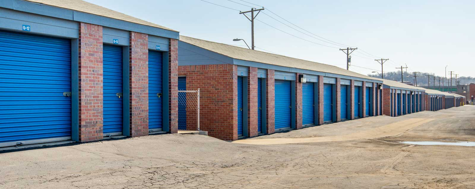 Self Storage In Kansas City Offering All Drive Up Units