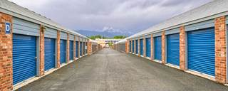 Drive up units at self storage in colorado springs