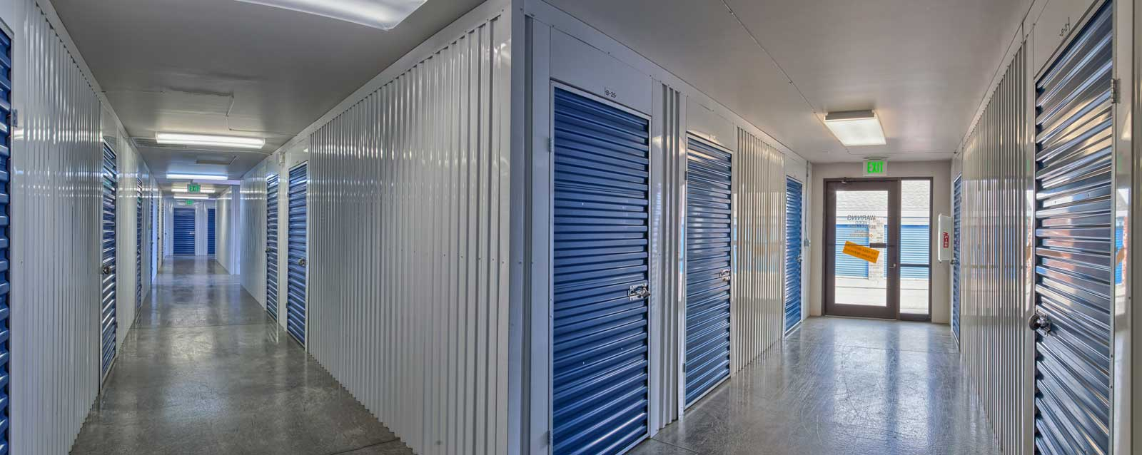 Denver self storage interior units