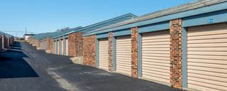 Kansas city self storage wide driveways