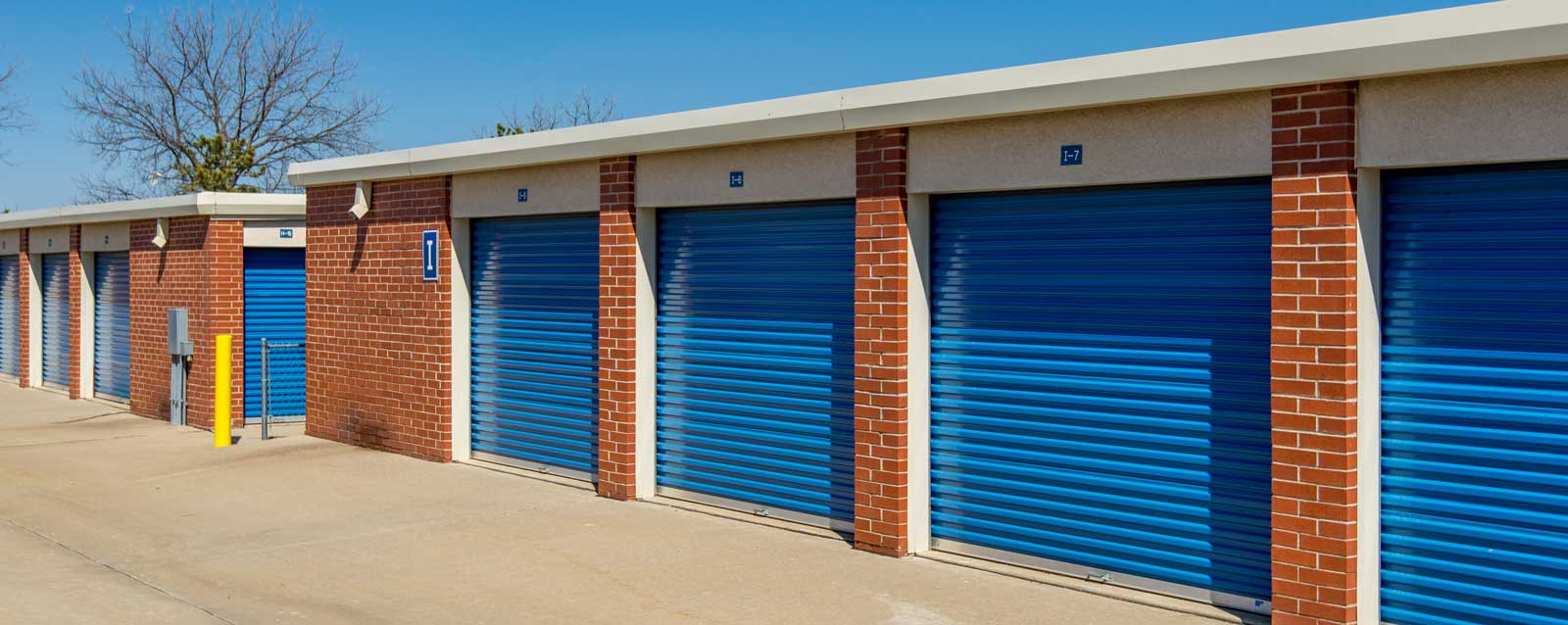 Drive up units at self storage in olathe