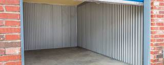 Drive up units at self storage in fort worth