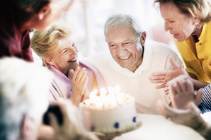 Relax with the ones you love at senior living in Cadillac Michigan