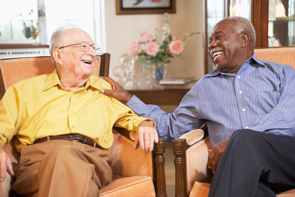 Conversations are great at Portland senior living community