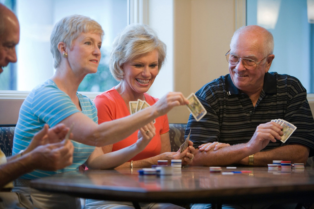 Have fun with friends at Portland senior living community