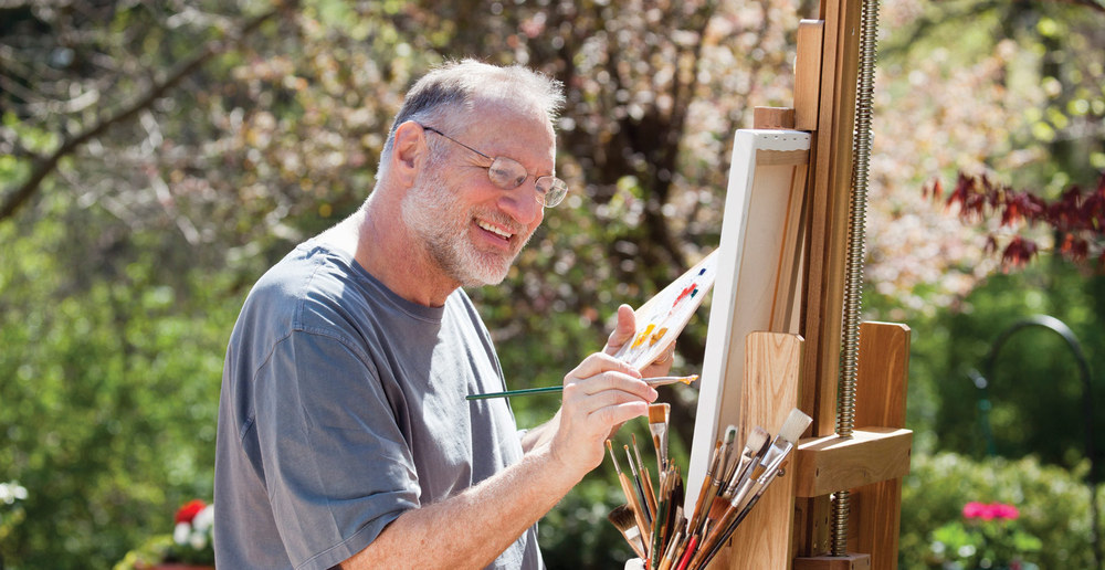 Create a work of art at puyallup senior living community