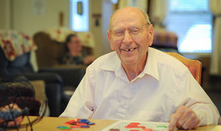 Yakima senior living residents playing games
