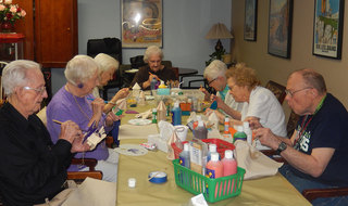Crafts at Redmond WA senior living
