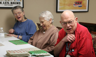 Games at Redmond Washington senior living