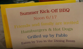 Summer BBQ at Redmond senior living
