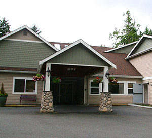 entrance to our senior living community