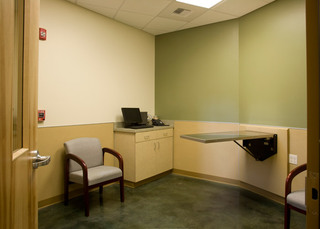 Exam room at vet in bothell wa
