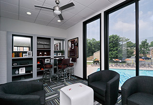 Apartments in Blacksburg offer residents a clubhouse to enjoy