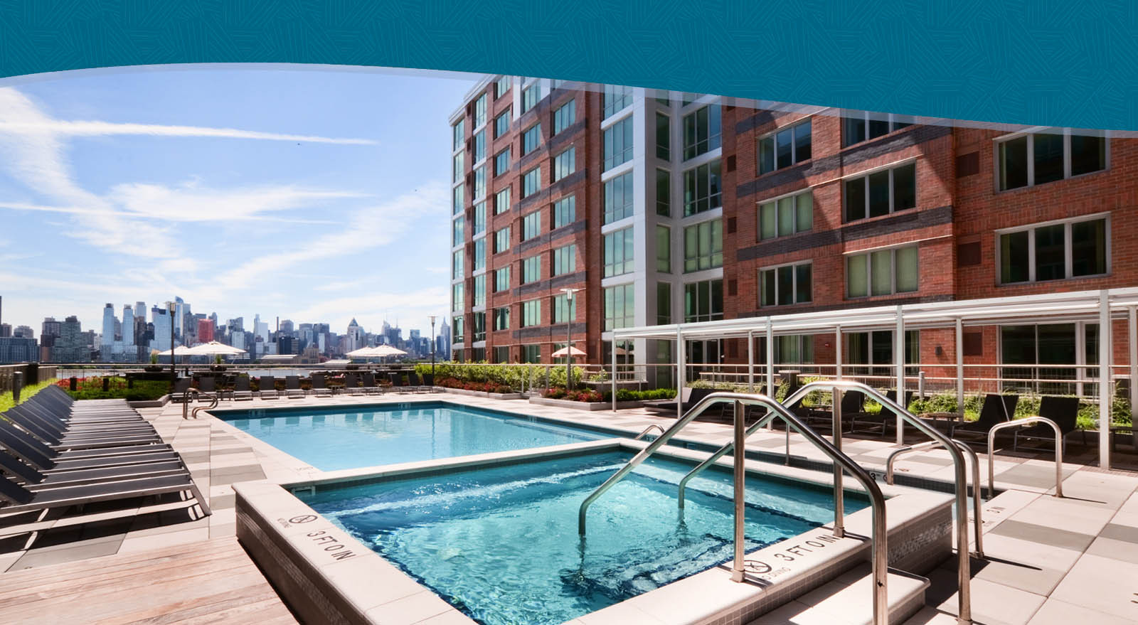 Port Imperial New Jersey Apartments | RiverTrace At Port Imperial In West New  York, NJ 07093
