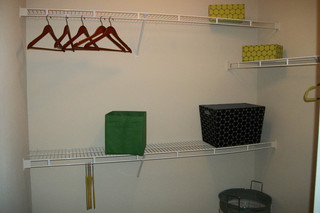 Apartments in north richland hills model master closet