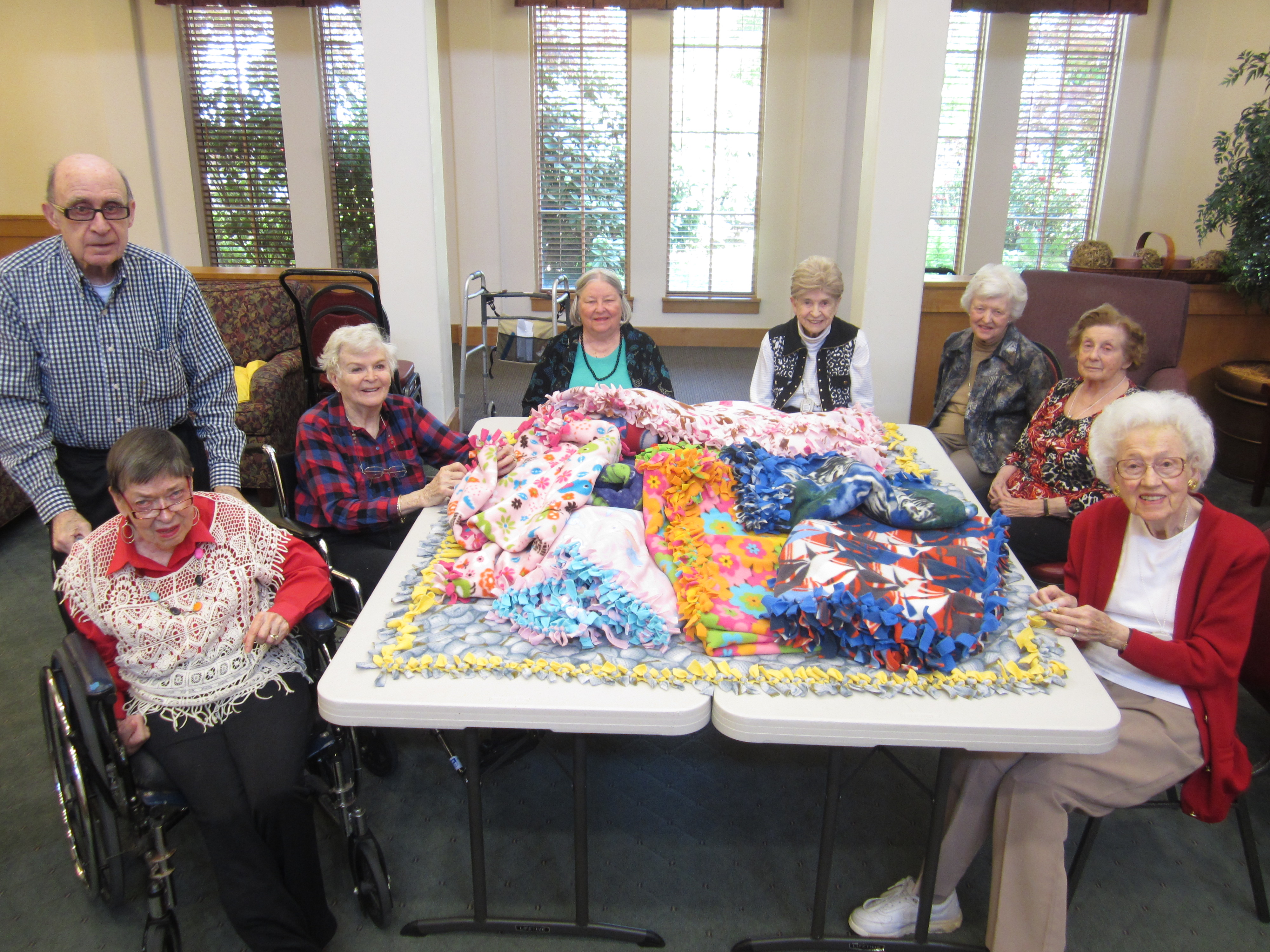 SpringRidge Court Residents Make Donation to The Dougy Center