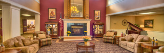 Fargo senior living lobby