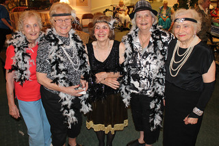 Appleton senior living costume party