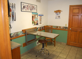 Exam room vet waterville