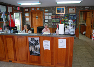 Reception at waterville vet