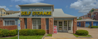 We sell boxes at self storage in houston
