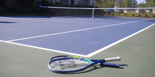 Tennis court preserve ballantyne