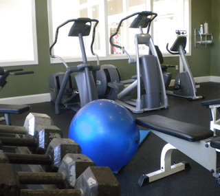 Fitness center preserve ballantyne