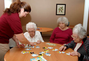 Alzheimer's care community in Montville