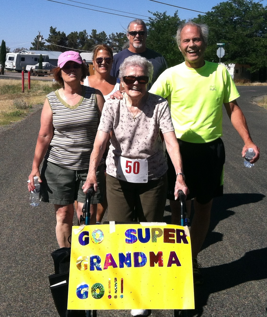 "Amber Lights' ""Super Grandma"" Joins Family for 5K Run/Walk"