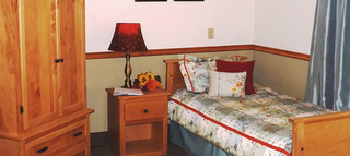 Senior living bedroom in fallon