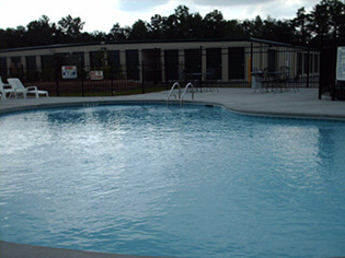 Fayetteville apartments offering a swimming pool