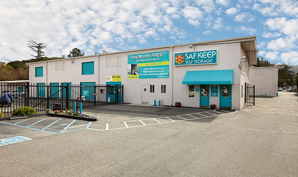 Exterior view of our storage units in Del Ray Oaks