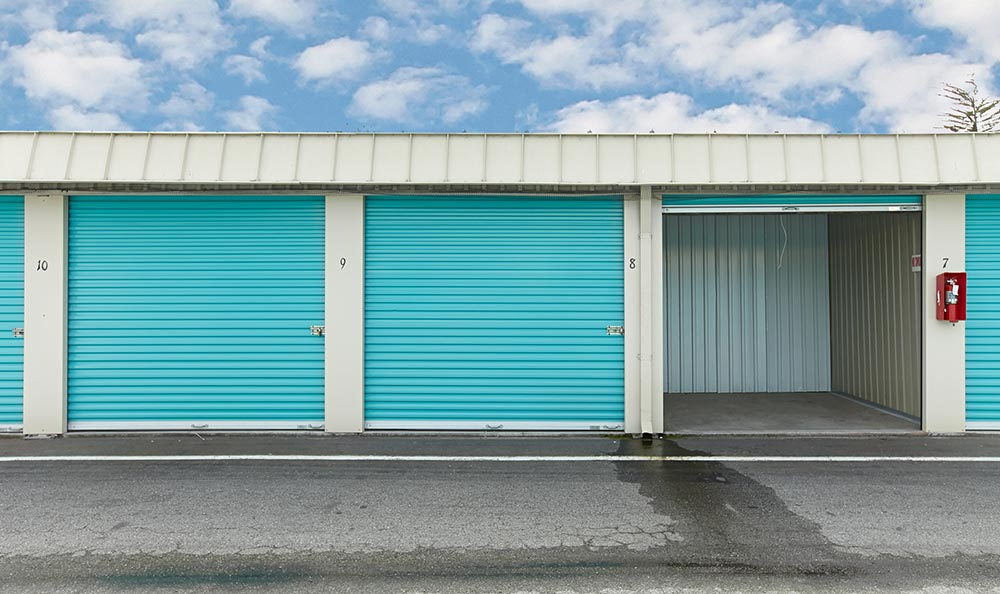 A view inside our Del Ray Oaks storage units
