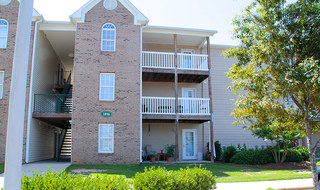 Fayetteville apartments with balconies