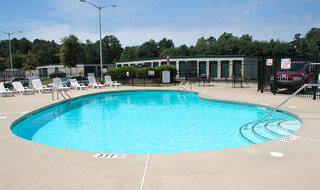Refreshing swimming pool at our Fayetteville apartments