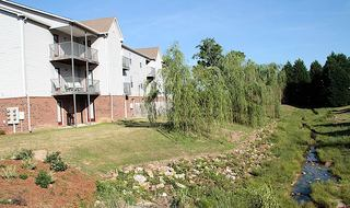Fayetteville NC apartment exterior