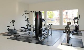 Fayetteville apartment fitness center